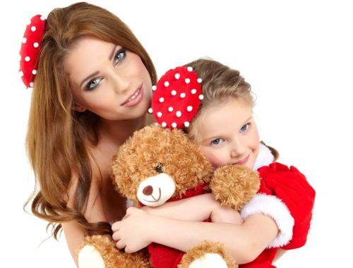 Մայրիկը երեխայի հետ