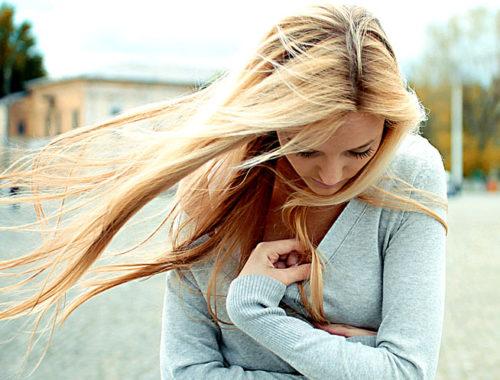 Տխուր աղջիկ